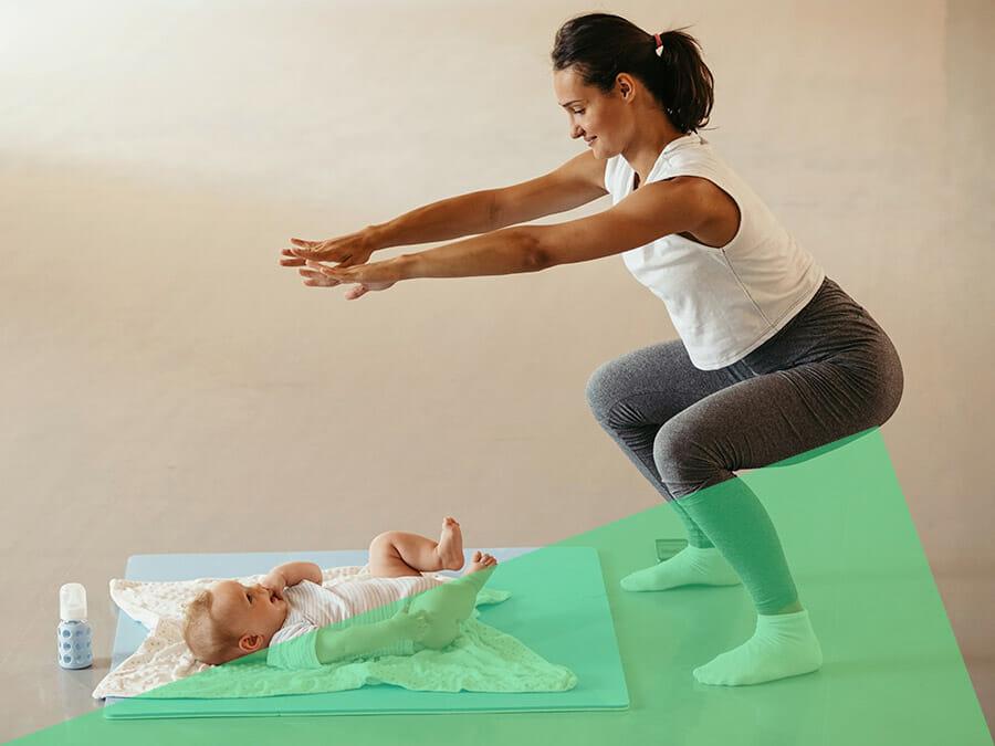 CrossFit Fitness für Mütter mit Baby in Berlin