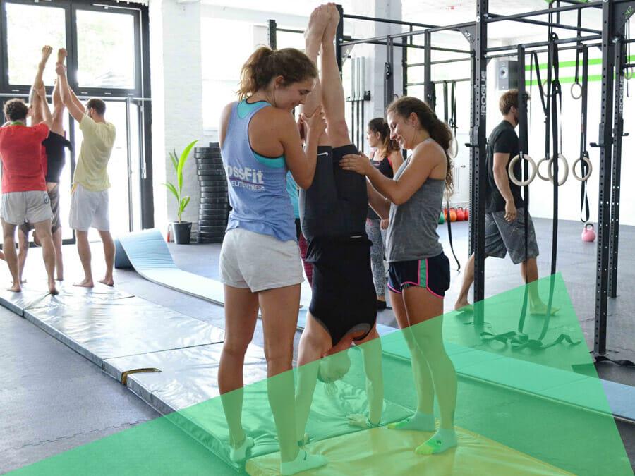 CrossFit Icke Gymnastics – Kraftaufbau und Klimmzüge lernen