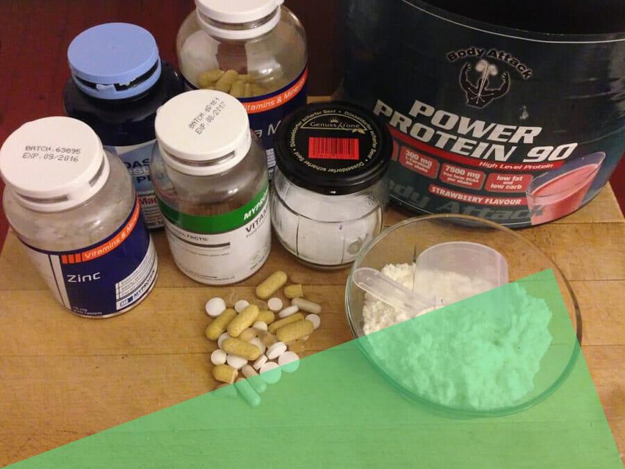 Supplemente für CrossFitter