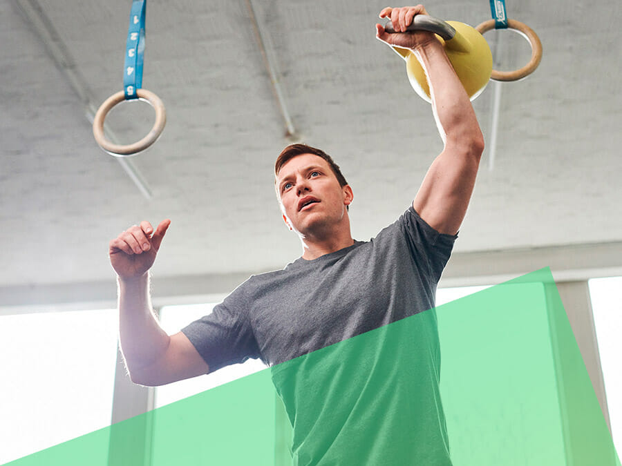 Kettlebell Training bei CrossFit Icke