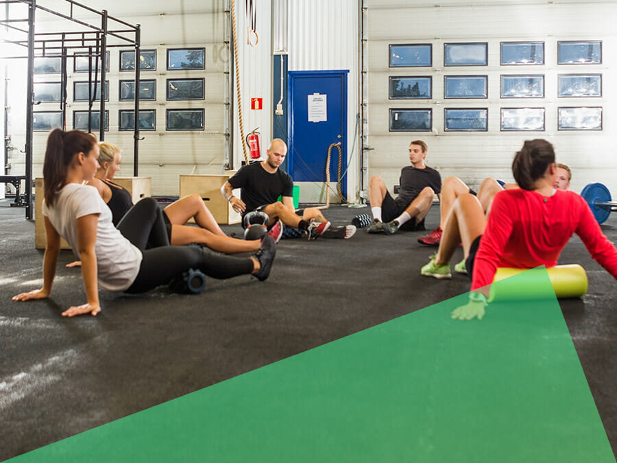 Mobility Training bei CrossFit Icke