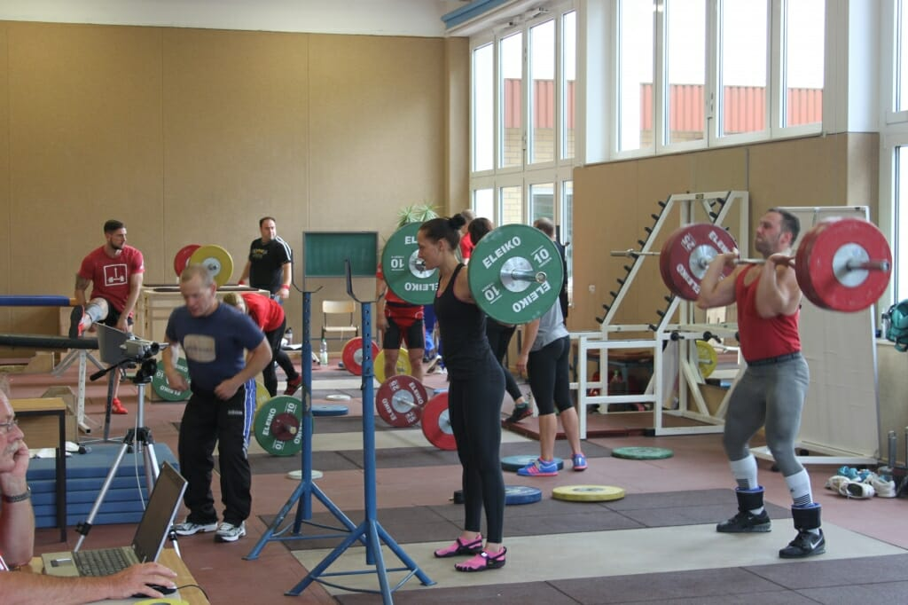 Gewichtheben im Olympiastützpunkt Kienbaum