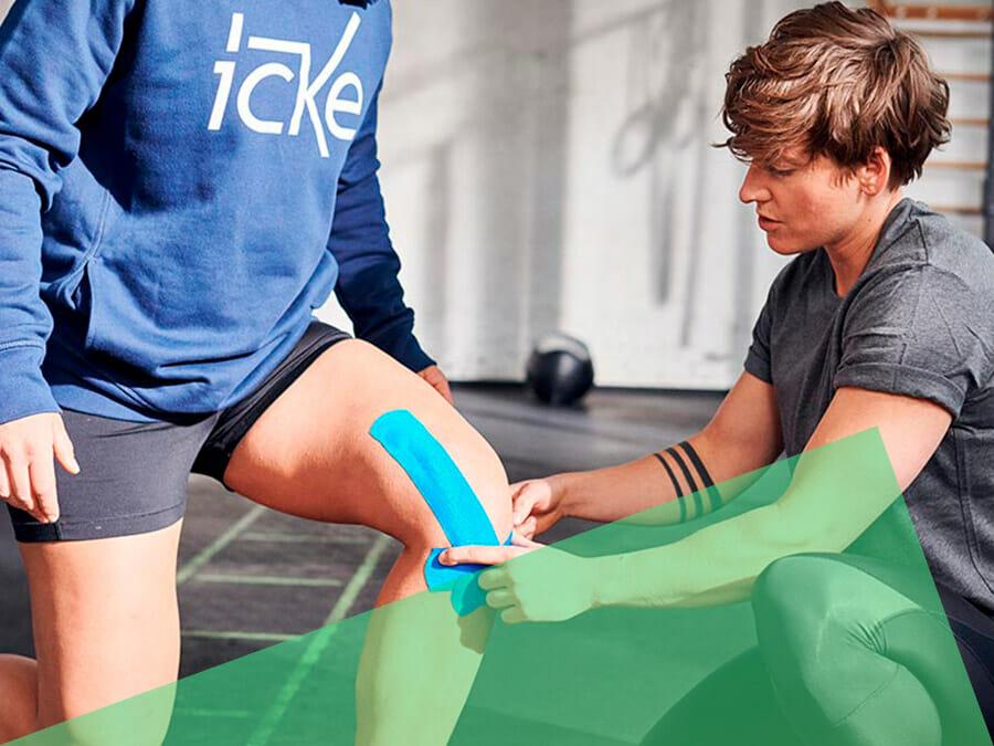 CrossFit Icke Berlin Sporttherapie Kinesio Taping