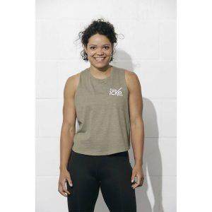 Crossfit Icke Cropped Tank