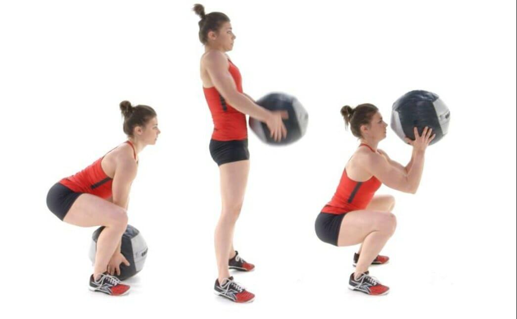 Med Ball Cleans - Übung richtig machen